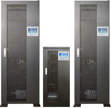 30KVA DT Series IGBT Rectifer 3 Phase UPS External Battery Type