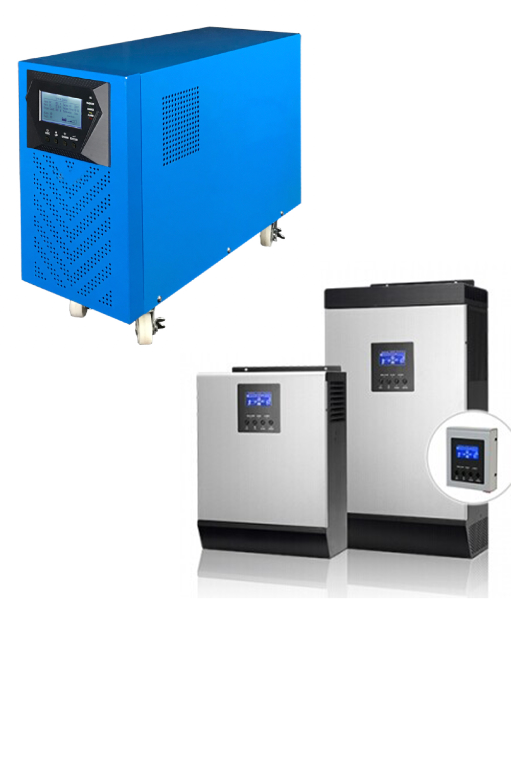 6KVA Transformer Based Solar Inverter with MPPT Charger