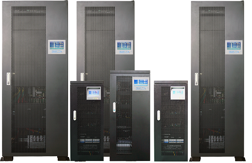 100KVA DT Series IGBT Rectifer 3 Phase UPS External Battery Type